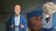 Saitama annoyed by Dotei