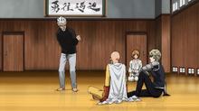 Saitama and Genos visit Bang's dojo