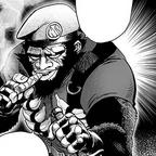 Маршал горилла, манга