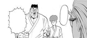 Saitama confronted by Zakos-0