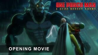 ONE PUNCH MAN A HERO NOBODY KNOWS - Opening Movie Trailer
