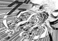 Orochi attacks Saitama
