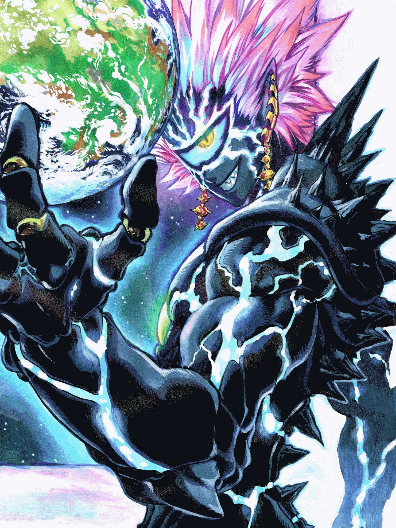 One Punch Man Saitama Vs Boros - Boros | One-Punch Man Wiki | Fandom