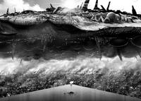 L'immense vaisseau de la Guilde des Pillards de l'Espace Dark Mater