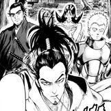 Atomic samurai and his disciples square