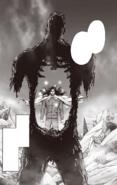 Homeless Emperor blows a hole through Zombieman