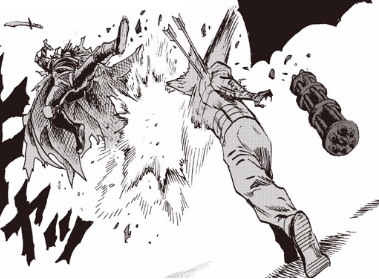 Death Gatling Uppercut