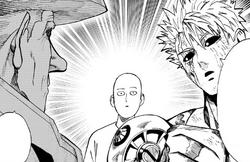 Kidob rencontre pour la première fois Saitama