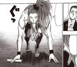 Capitaine Mizuki se prépare à se battre