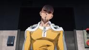 Saitama annoyed