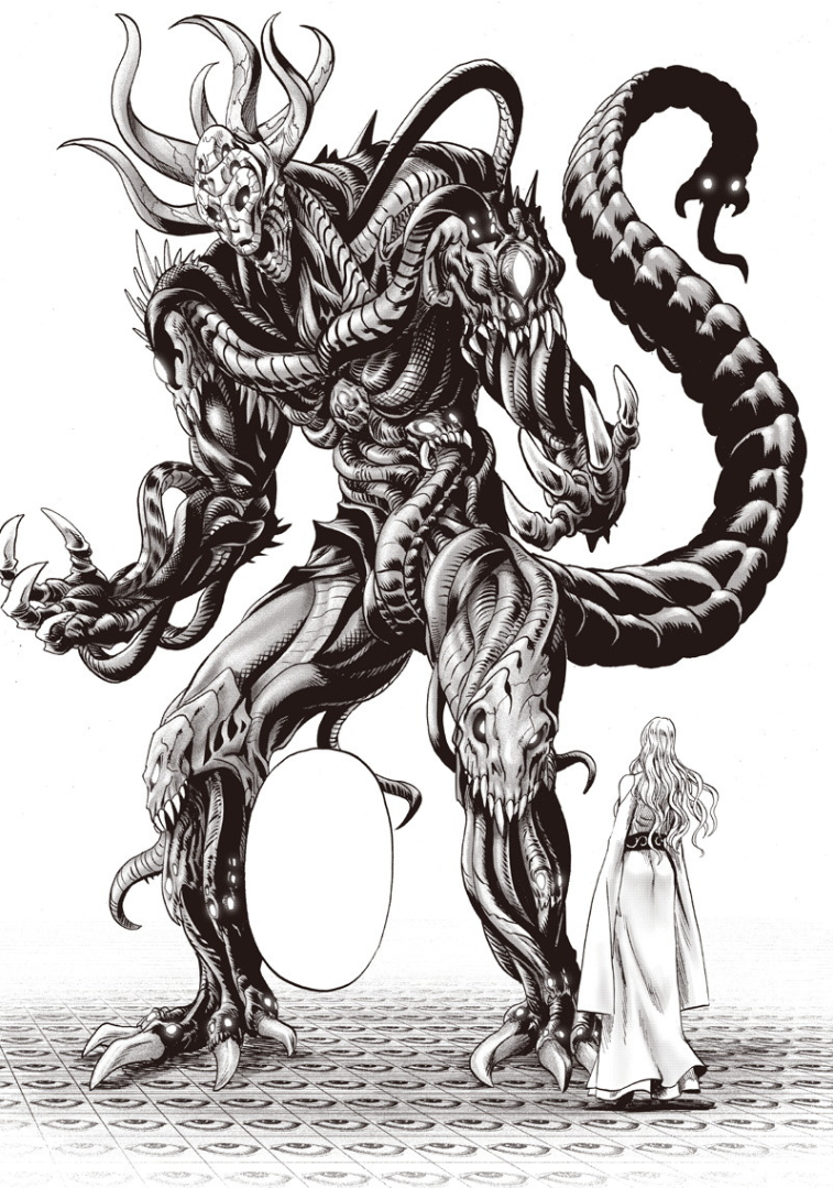image orochi s transformation into a monster png onepunch man
