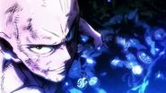 Saitama faces Subterranean King