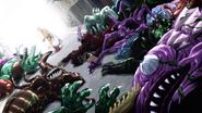Saitama monstermash