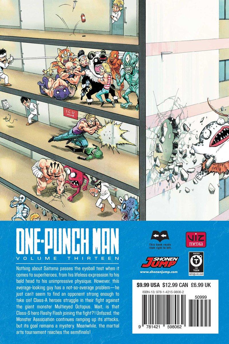 Volume 13 | OnePunch-Man Wiki | FANDOM powered by Wikia