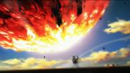 Bang quería destruir el meteoro