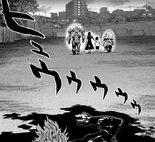 Défaite de Garoh face aux 3 monstres