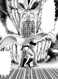 Saitama et King dupent Grande Scolopendre Patriarche