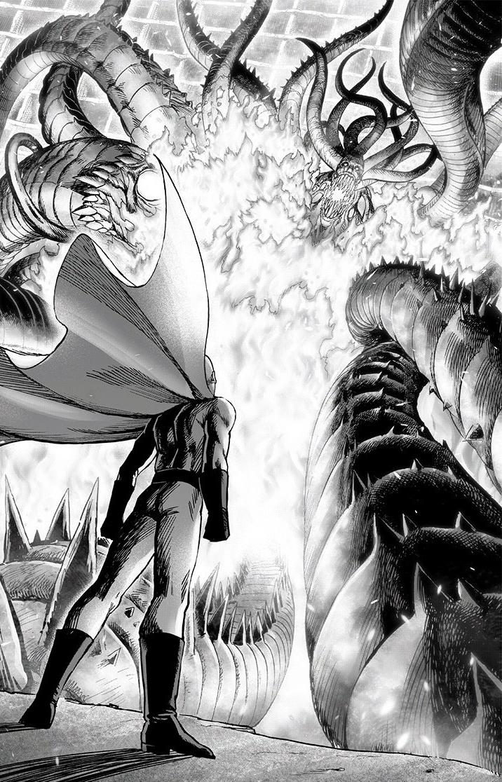 One Punch Man Saitama Vs Blast - Saitama vs. Orochi | One-Punch Man Wiki | Fandom