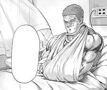 Tanktop Master hospitalized