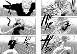 Garou and Bang take their stances