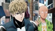 Saitama and Genos shopping