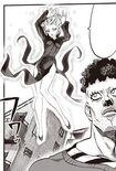 Tatsumaki redescendant comme une fée
