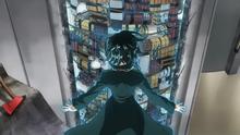Fubuki aislando las bombas
