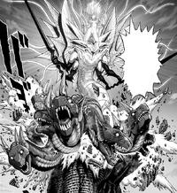 Psykos Orochi fusion manifests multiple dragon heads