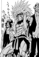 Homo Apwalus tête manga
