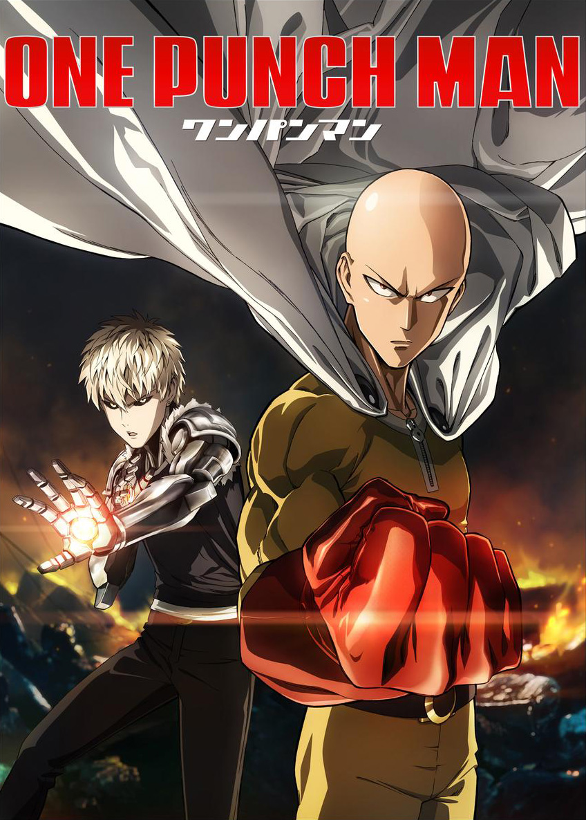 Image result for One Punch Man cover anime