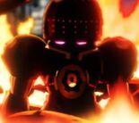 G4 émergeant du feu