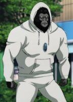 Cyborgorilla en jogging