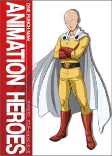 One Punch Man Animation Heroes Artbook