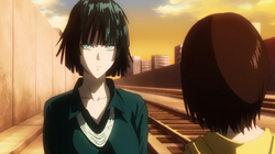 Fubuki and hero girl