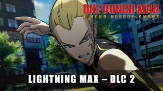 ONE PUNCH MAN A HERO NOBODY KNOWS - Lightning Max DLC 2