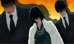 Le Clan Fubuki choqué de l'impertinence de Saitama
