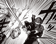 Shadow Ring attacks Rhino Wrestler