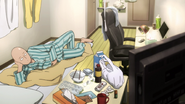 Saitama watches TV