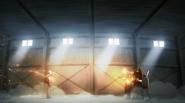 Genos being shot