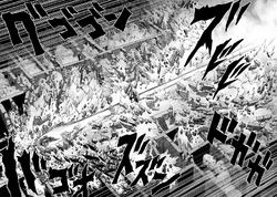 Superalloy Darkshine tackles Garou through walls