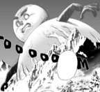Гигантский снеговик, манга