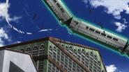 Train in air