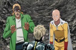 King voit que Saitama est un mauvais mentor