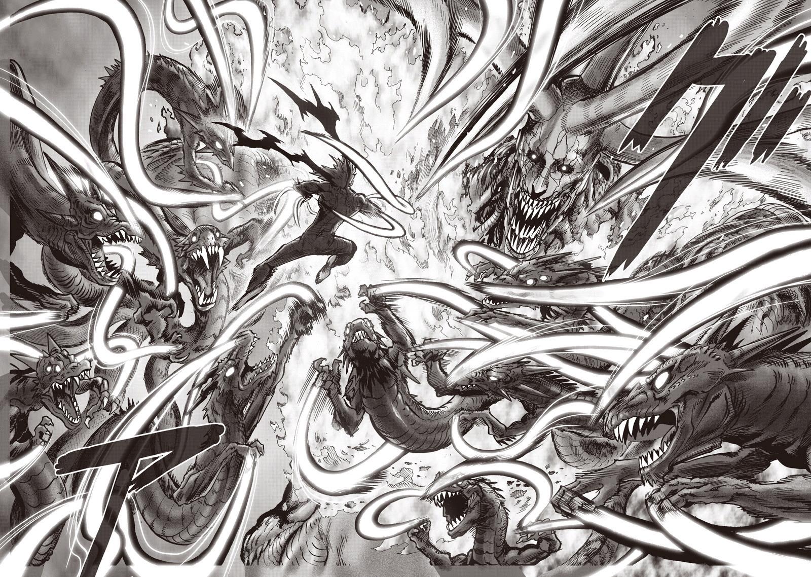 Garou vs. Orochi   One Punch-Man Wiki   Fandom