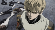 Genos damages Mosquito Girl