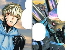 Genos asks bofoi for help