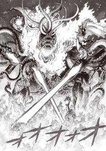 Orochi's pyrokinesis