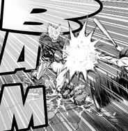 Garou Chest Attack