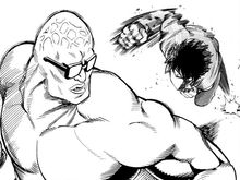 Saitama vs. Personification Of A Light Pull Cord