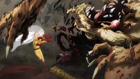 Saitama acaba con Beast King
